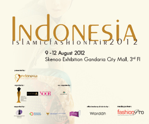My Big Things in 2012 (2) : Held a big event, Indonesia Islamic Fashion Fair